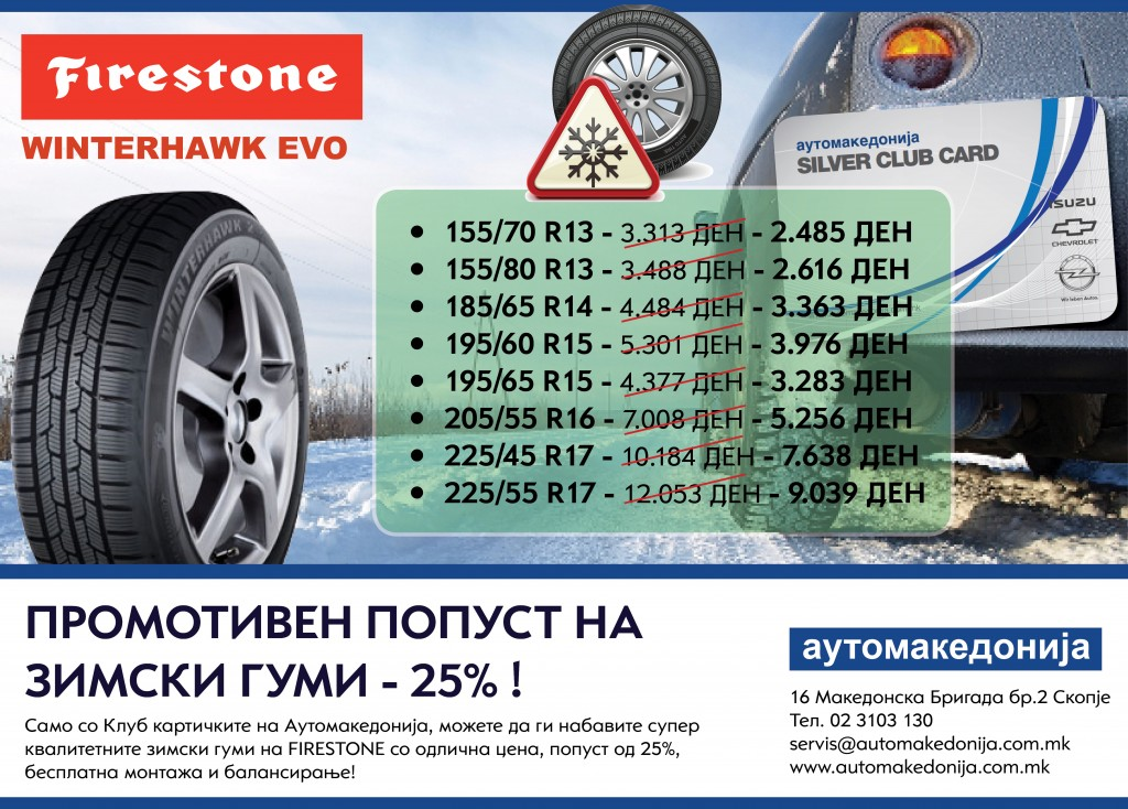 firestone zimski dekemvri so kart